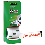 Scotch® Klebefilm Magic™ 810  8 Rl./Pack.