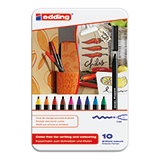 edding Fasermaler 1300 color pen  10 St./Pack.