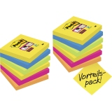 Post-it® Haftnotiz Super Sticky Notes Promotion Rio de Janeiro Collection