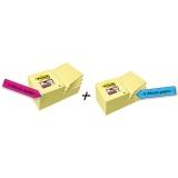 Post-it® Haftnotiz Super Sticky Notes Promotion