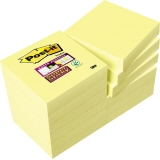Post-it® Haftnotiz Super Sticky Notes  12 Block/Pack.