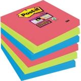 Post-it® Haftnotiz Super Sticky Notes Bora Bora Collection  6 Block/Pack.