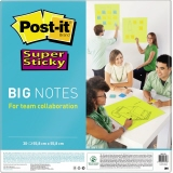 Post-it® Haftnotiz Super Sticky BIG NOTES 558 x 558 mm (B x H)