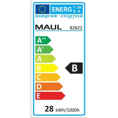 Energieeffizienzklasse: B