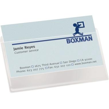 3l Office Products Visitenkartenhülle 105 X 60 Mm B X H