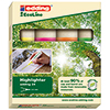 edding Textmarker Highlighter 24 EcoLine  4 St./Pack. A007420Y