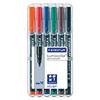 STAEDTLER® Folienstift Lumocolor® permanent 317  6 St./Pack. A007459A