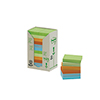 Post-it® Haftnotiz Recycling Pastell Rainbow Notes Tower  24 Block/Pack. A007581R