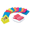 Post-it® Haftnotizspender Super Sticky Z-Notes  weiß/transparent A007732L