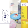 Avery Zweckform CD/DVD Etikett  25 Bl./Pack. A009051Y