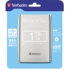Verbatim Festplatte extern Store 'n' Go USB 3.0  1 Tbyte silber A009359O