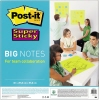 Post-it® Haftnotiz Super Sticky BIG NOTES  558 x 558 mm (B x H) A010470A