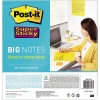 Post-it® Haftnotiz Super Sticky BIG NOTES  279 x 279 mm (B x H) A010470B