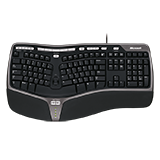 Microsoft Tastatur Natural Ergonomic Keyboard 4000