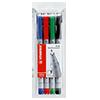 STABILO® Folienstift OHPen universal  0,7 mm 4 St./Pack. S001717B