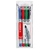 STABILO® Folienstift OHPen universal  0,4 mm 4 St./Pack. S001917L