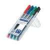 STAEDTLER® Folienstift Lumocolor® permanent 318  4 St./Pack. S002700B