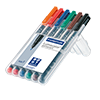 STAEDTLER® Folienstift Lumocolor® permanent 318  6 St./Pack. S002752P