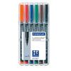 STAEDTLER® Folienstift Lumocolor® permanent 313  6 St./Pack. S002905K