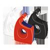 tesa® Handabroller Easy Cut®  19 mm x 33 m (B x L) T003994A