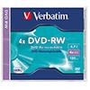 Verbatim DVD-RW  4x Jewelcase V004549N