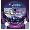 Verbatim DVD+R  25 St./Pack. V004623V