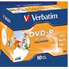 Verbatim DVD-R bedruckbar  Jewelcase V004678P