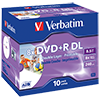Verbatim DVD+R Double Layer  10 St./Pack. V004952J