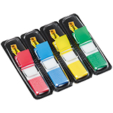 Post-it® Haftstreifen Index Mini 4 Block/Pack.