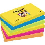 Post-it® Haftnotiz Super Sticky Rio de Janeiro Collection  127 x 76 mm (B x H)