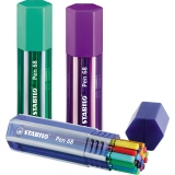 STABILO® Fasermaler 68 Big Pen Box