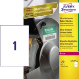 Avery Zweckform Folienetikett 210 x 297 mm (B x H)
