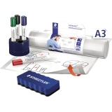 Flipchartfolie Whiteboard portable A3