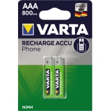 Varta Akku Recharge Accu Power Phone AAA/Micro