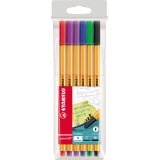 STABILO® Fineliner point 88® 6 Farben