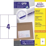 Avery Zweckform Universaletikett ultragrip 105 x 148 mm (B x H)