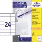 Avery Zweckform Universaletikett ultragrip 70 x 36 mm (B x H)