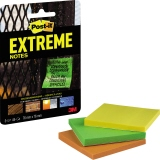Post-it® Haftnotiz Extreme Notes 3 Block/Pack.