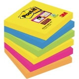 Post-it® Haftnotiz Super Sticky Rio de Janeiro Collection 76 x 76 mm (B x H)