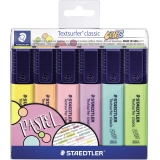 STAEDTLER® Textmarker Textsurfer® classic colors 364 6 St./Pack.