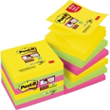 Post-it® Haftnotiz Super Sticky Z-Notes Rio de Janeiro Collection Promotion