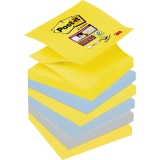 Post-it® Haftnotiz Super Sticky Z-Notes New York Color Collection Notes