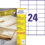 Avery Zweckform Universaletikett Recycling 70 x 36 mm (B x H)
