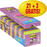 Post-it Haftnotiz Super Sticky Notes Bangkok Collection Promotion 24 Block/Pack.