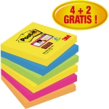 Post-it Haftnotiz Super Sticky Rio de Janeiro Collection 76 x 76 mm (B x H)