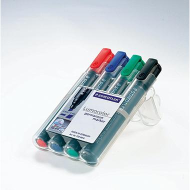 STAEDTLER® Permanentmarker Lumocolor® 350  4 St./Pack.