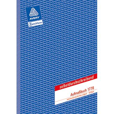 Avery Zweckform Aufmaßbuch