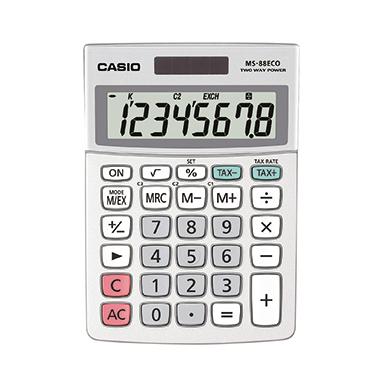 CASIO® Tischrechner MS-88 ECO