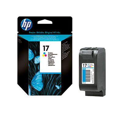HP Tintenpatrone 17
