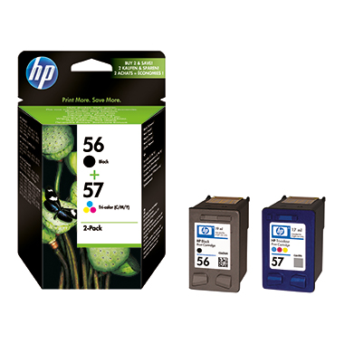 HP Tintenpatrone 56+57